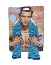 0108c9c50b9 Кърпа за фитнес - охлаждаща - тюркоаз - 100 х 30 см.
