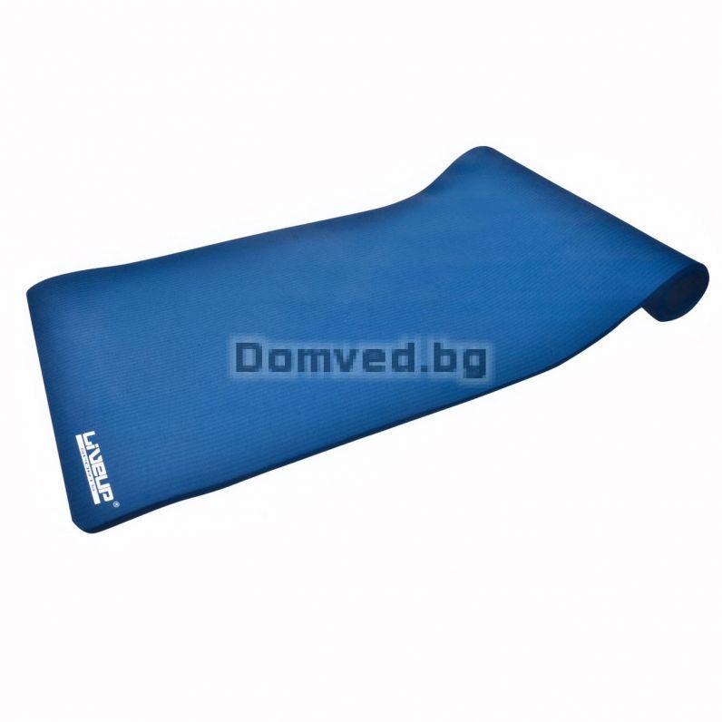 6029185a8be Постелка за фитнес и йога - синя - 142 х 58 см.