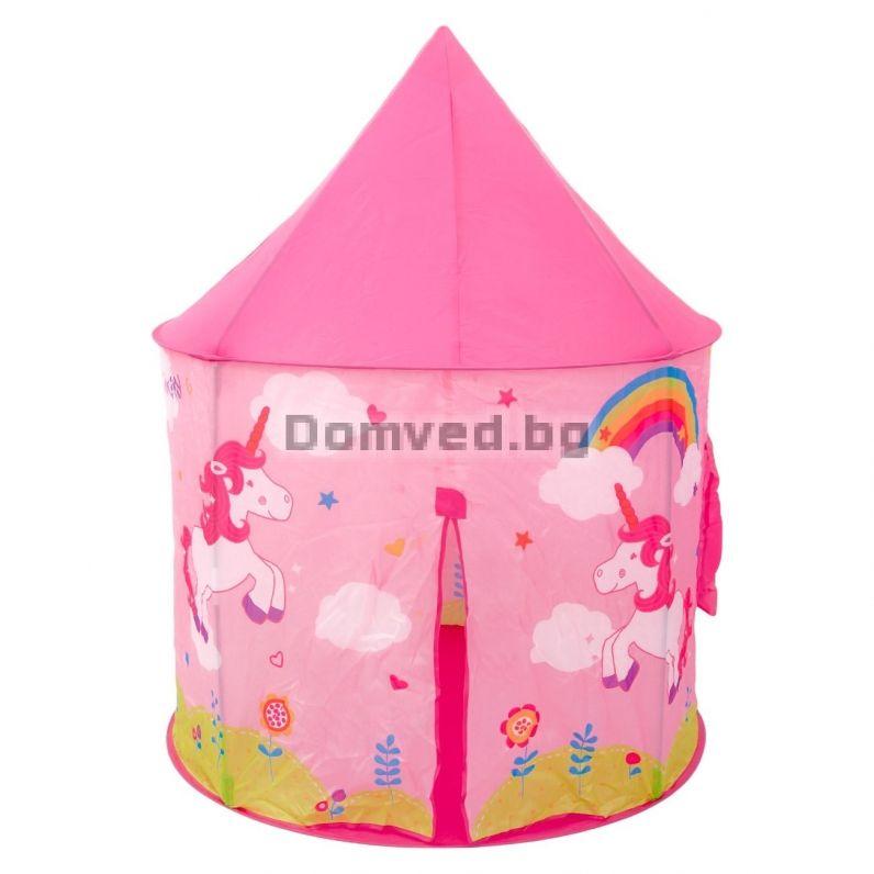 92122a77ec3 Детски замък-палатка за игра - еднорог